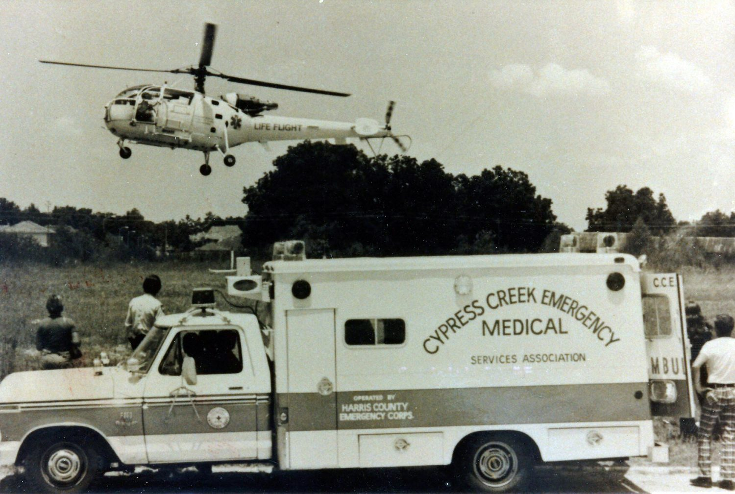1976 Life Flight with CCEMS